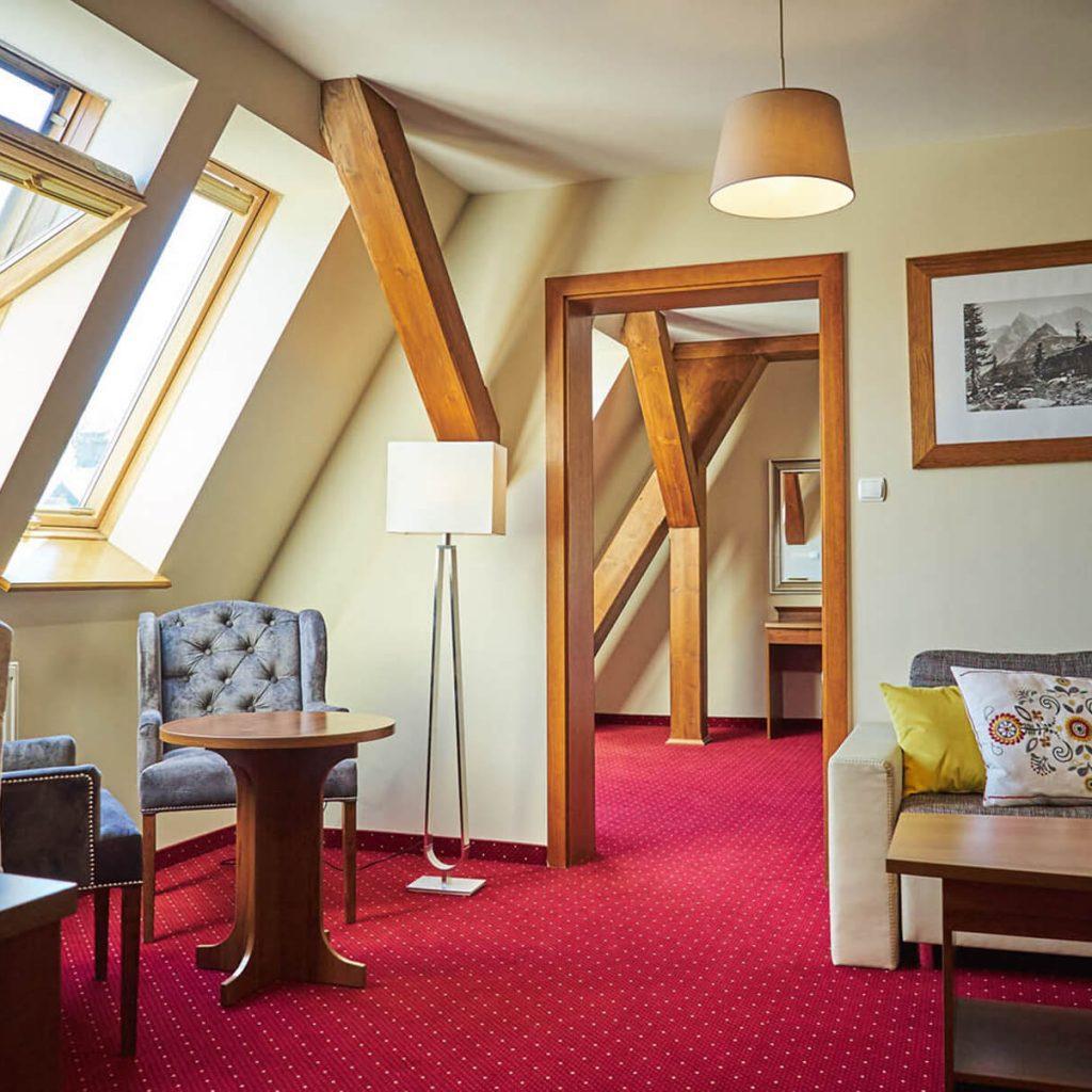 Villa Vita pensjonat Zakopane - pokoj apartament 1